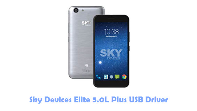 Sky Devices Elite 5.0L Plus USB Driver