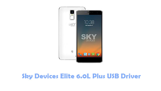 Sky Devices Elite 6.0L Plus USB Driver