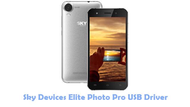 Download Sky Devices Elite Photo Pro USB Driver