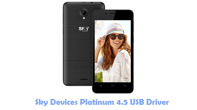Sky Devices Platinum 4.5 USB Driver