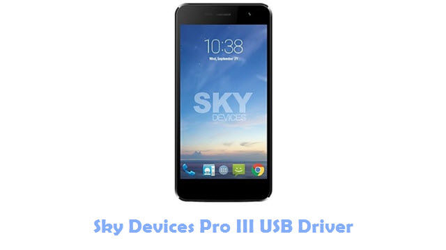Download Sky Devices Pro III USB Driver