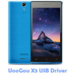 UooGou X3 USB Driver