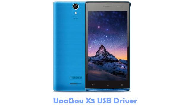 Download UooGou X3 USB Driver