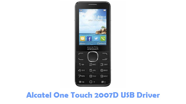 Download Alcatel One Touch 2007D USB Driver