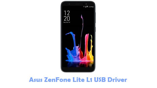 Download Asus ZenFone Lite L1 USB Driver