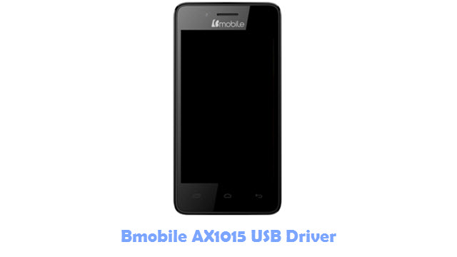 Bmobile AX1015 USB Driver