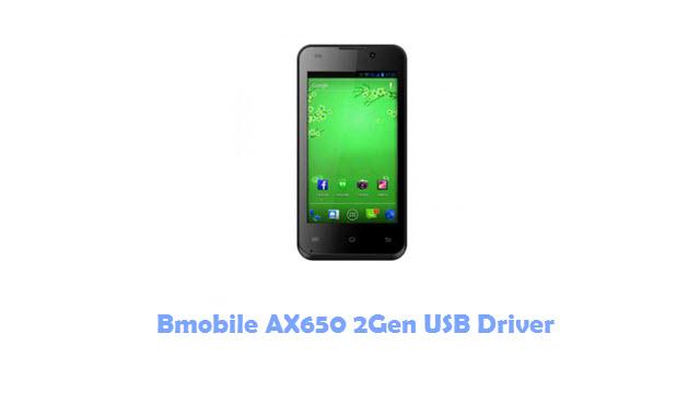 Bmobile AX650 2Gen USB Driver