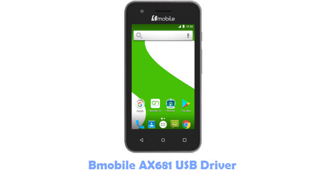 Bmobile AX681 USB Driver