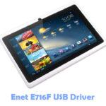 Download Enet E716F USB Driver