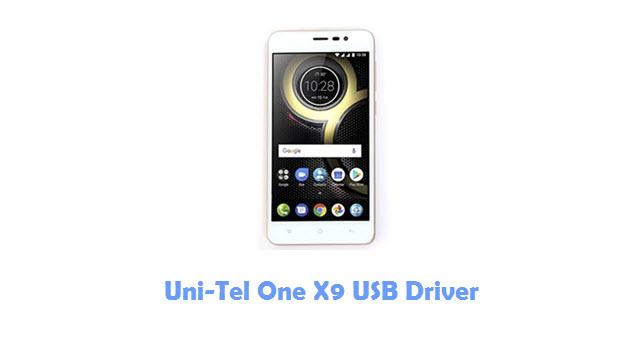 Download Uni-Tel One X9 USB Driver