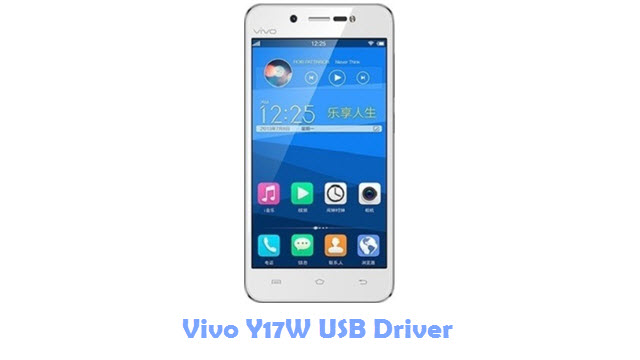 Download Vivo Y17W USB Driver