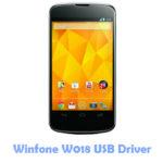 Download Winfone W018 USB Driver