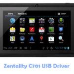 Zentality C701 USB Driver