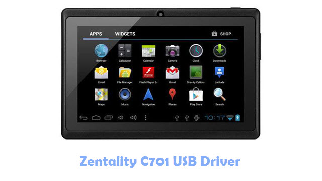 Download Zentality C701 USB Driver