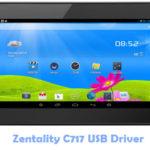 Zentality C717 USB Driver