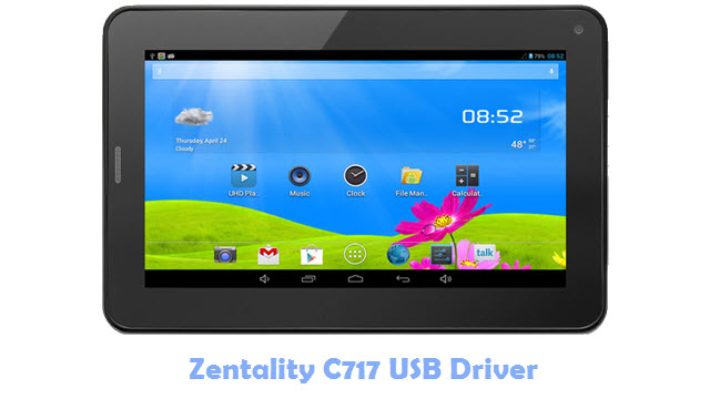 Download Zentality C717 USB Driver