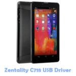 Zentality C718 USB Driver