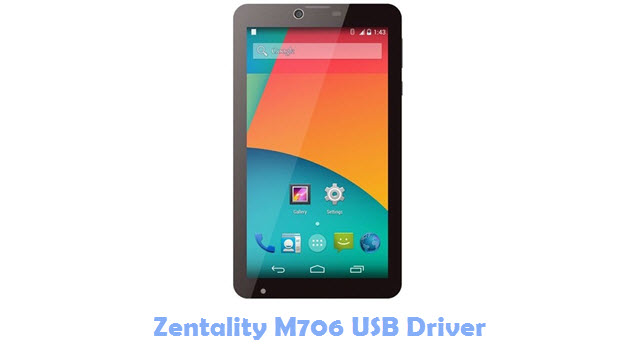 Download Zentality M706 USB Driver