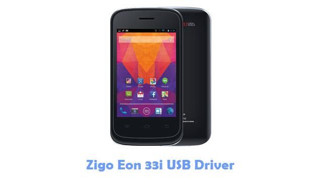 Download Zigo Eon 33i USB Driver