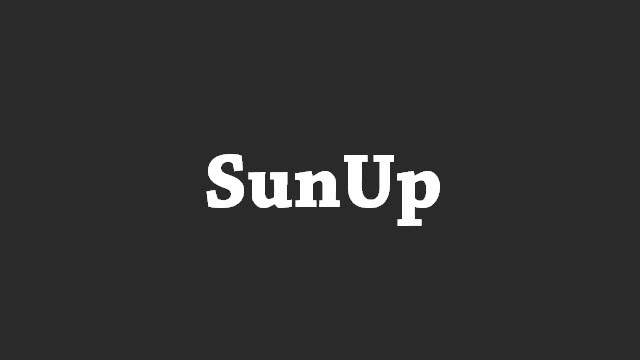 SunUp USB Drivers