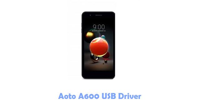 Download Aoto A600 USB Driver