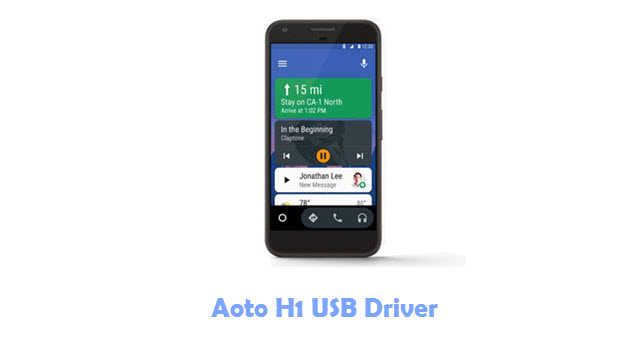Aoto H1 USB Driver