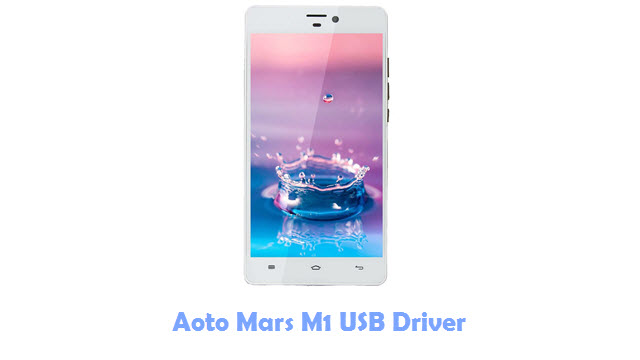 Download Aoto Mars M1 USB Driver