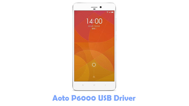 Download Aoto P6000 USB Driver