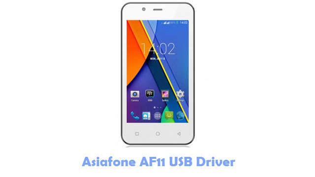 Asiafone AF11 USB Driver
