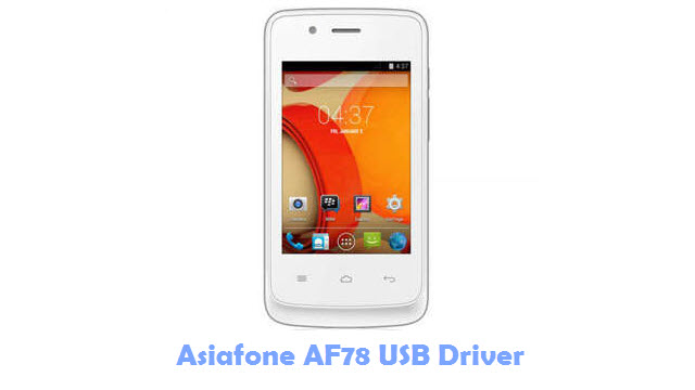 Asiafone AF78 USB Driver