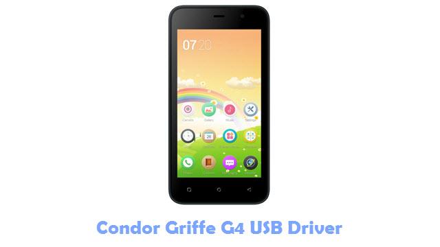 Condor Griffe G4 USB Driver