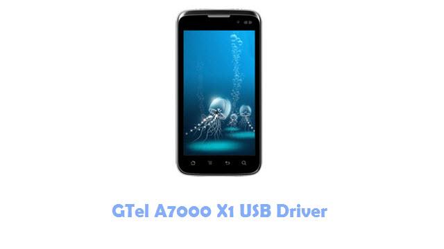 Download GTel A7000 X1 USB Driver