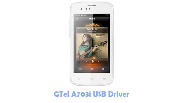 Download GTel A703i USB Driver