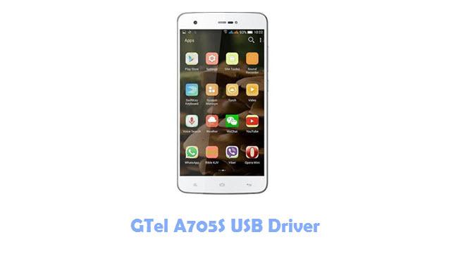 Download GTel A705S USB Driver