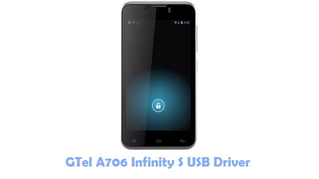 GTel A706 Infinity S USB Driver