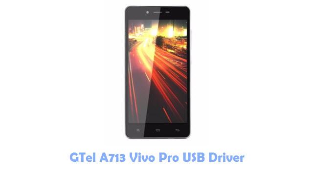 GTel A713 Vivo Pro USB Driver