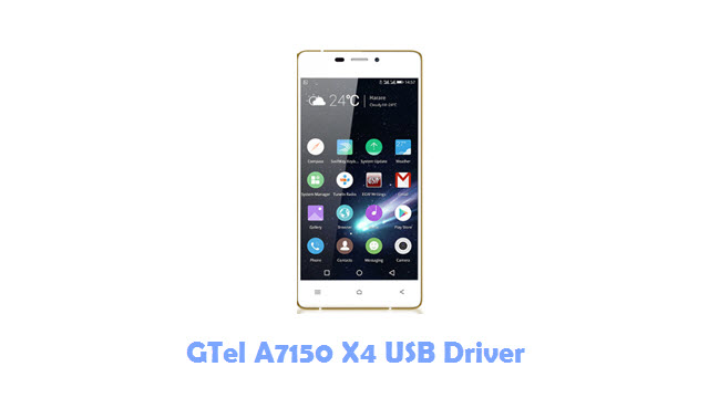 Download GTel A7150 X4 USB Driver
