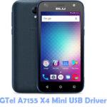 Download GTel A7155 X4 Mini USB Driver