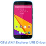 GTel A717 Explorer USB Driver
