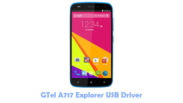 Download GTel A717 Explorer USB Driver