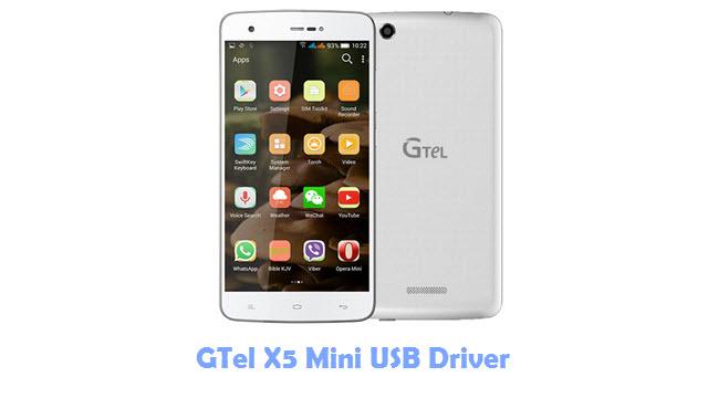 GTel X5 Mini USB Driver