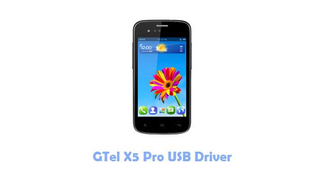 GTel X5 Pro USB Driver