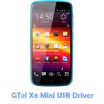 Download GTel X6 Mini USB Driver