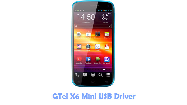 Download GTel X6 Mini USB Driver