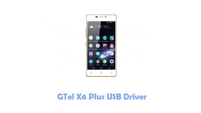 GTel X6 Plus USB Driver