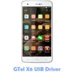Download GTel X6 USB Driver
