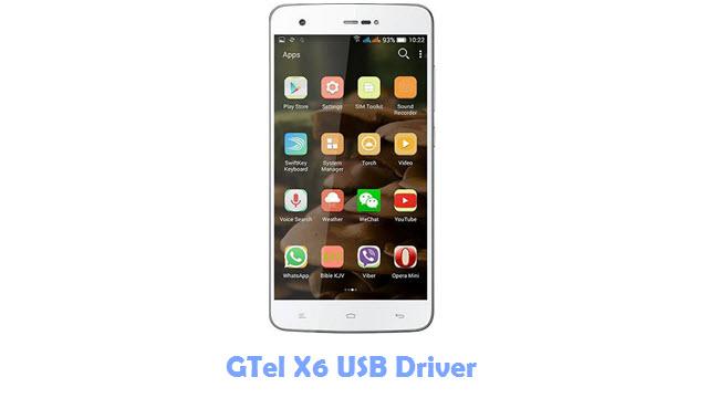 GTel X6 USB Driver