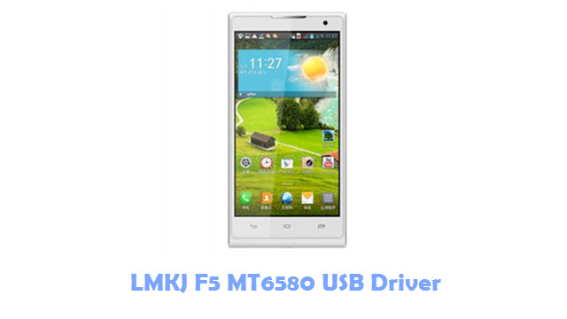 LMKJ F5 MT6580 USB Driver