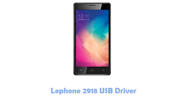 Download Lephone 2918 USB Driver