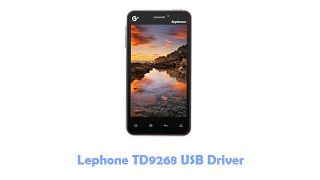 Download Lephone TD9268 USB Driver